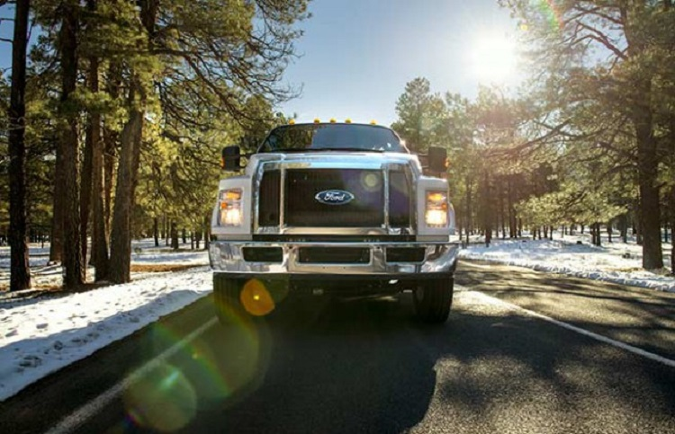 2018 Ford F-750 grille