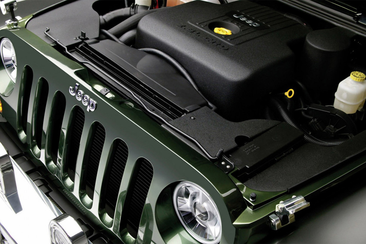 2018 Jeep Gladiator engine