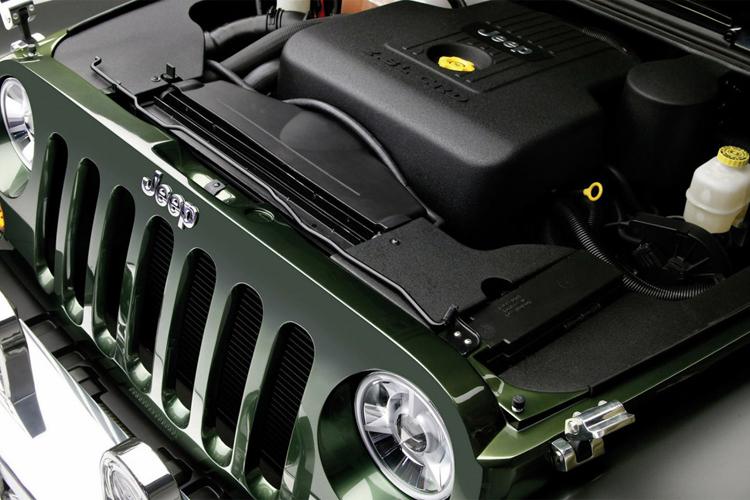2018 Jeep Gladiator engine