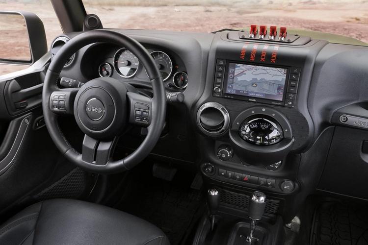 2018 Jeep Scrambler dashboard