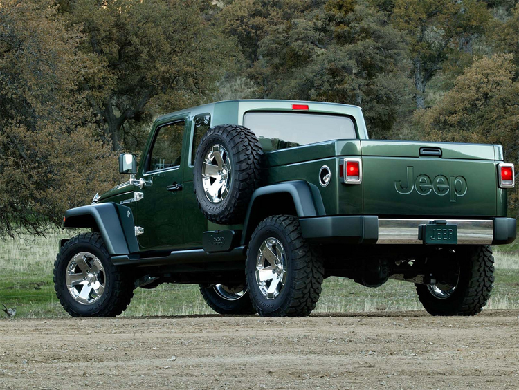 2018 Jeep Gladiator rear