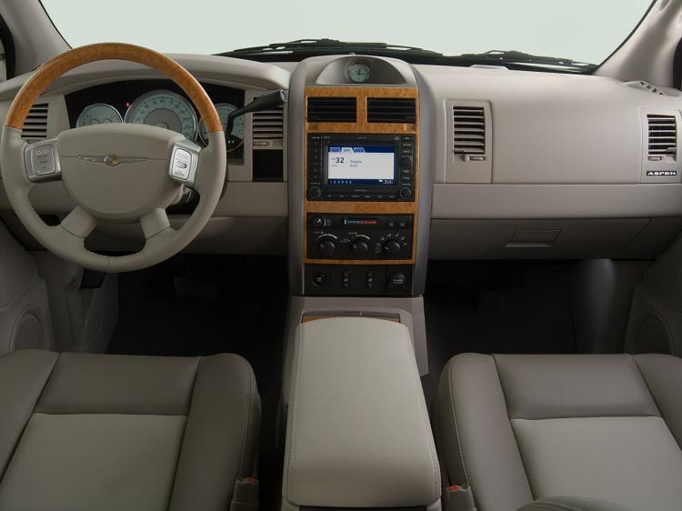 2018 Chrysler Aspen interior
