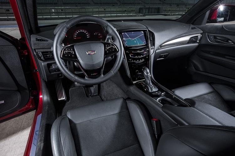 2018 Cadillac ATS interior