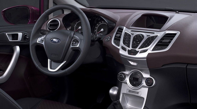 2018 Ford Figo dashboard