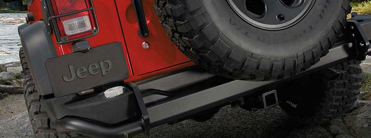 2018 Jeep Wrangler Hybrid rear