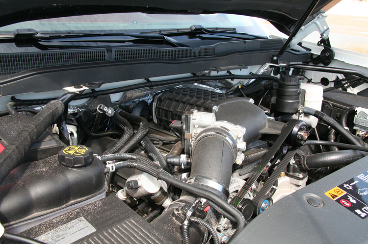 2018 Chevrolet Reaper engine