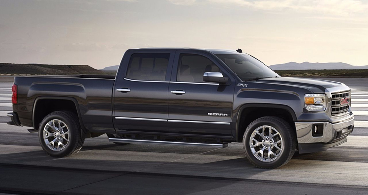 2018 GMC Sierra 1500 side