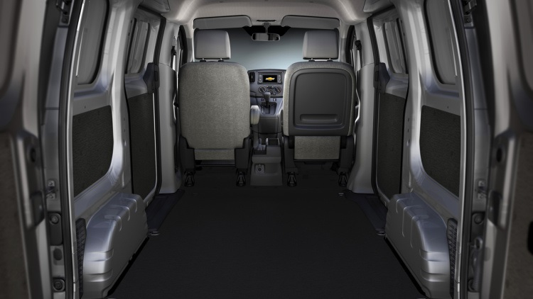 2018 Chevrolet City Express interior