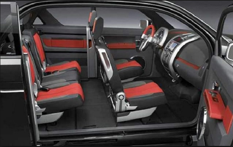 2018 Dodge Rampage cabin