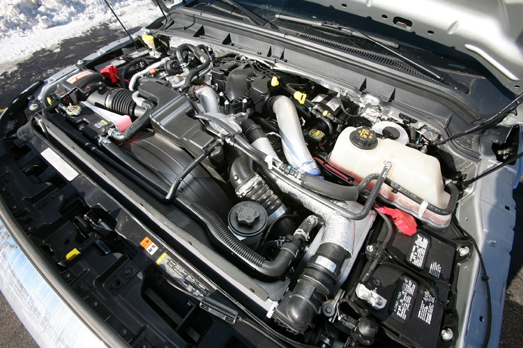 2018 Ford F-450 diesel