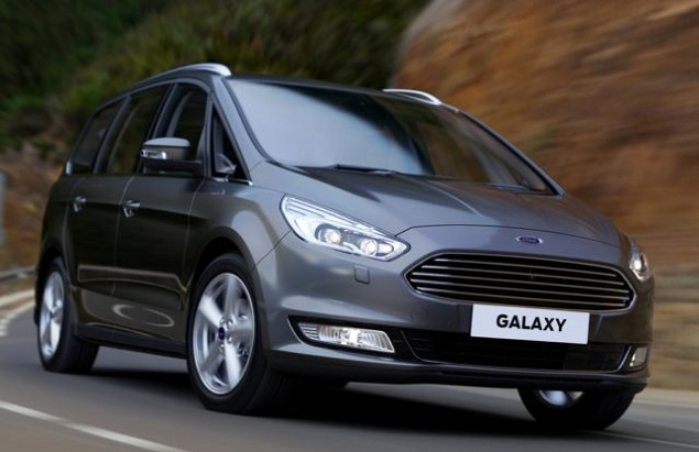 2018 Ford Galaxy front view