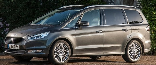 2018 Ford Galaxy side view