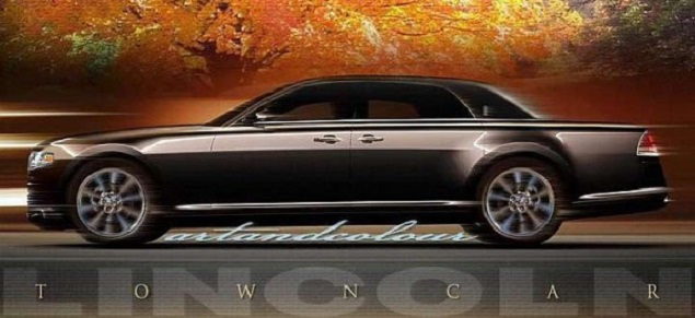 2019 Lincoln Town Car side view