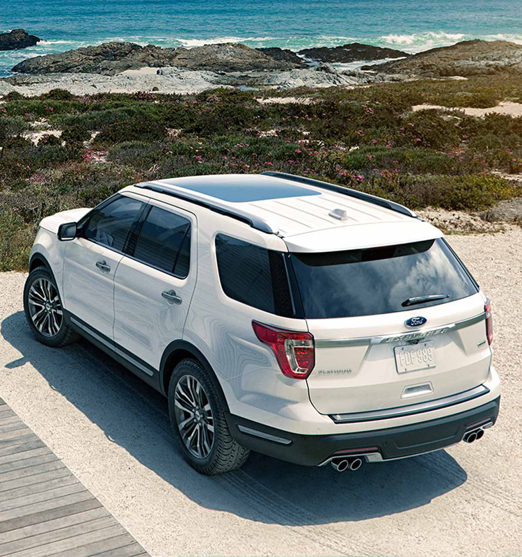 2018 Ford Explorer Sport back