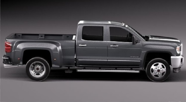 2018 GMC Sierra 3500 side view
