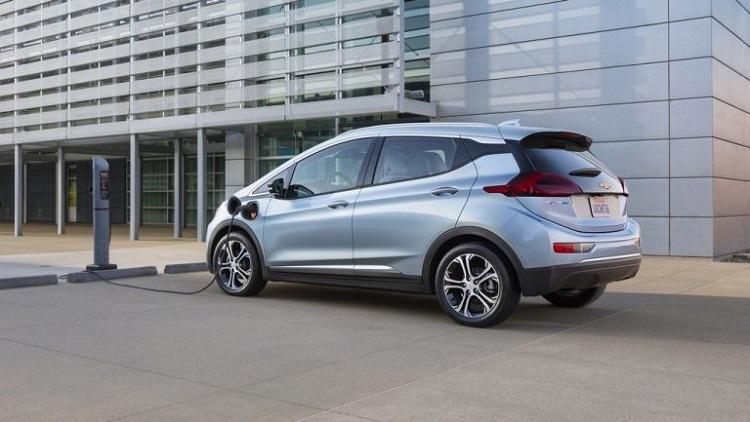 2019 Chevrolet Bolt rear view