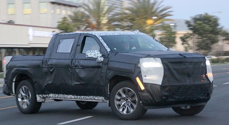 2019 Chevrolet Silverado 1500 spy pics