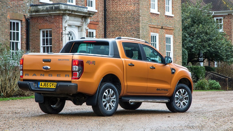 2019 Ford Ranger rear view