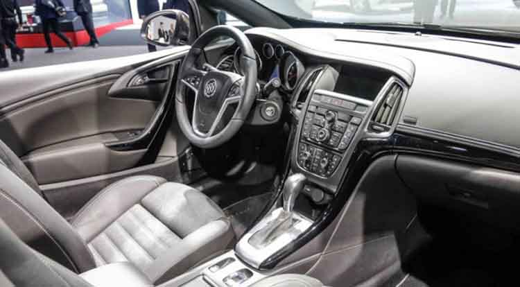 2019 Buick Cascada interior