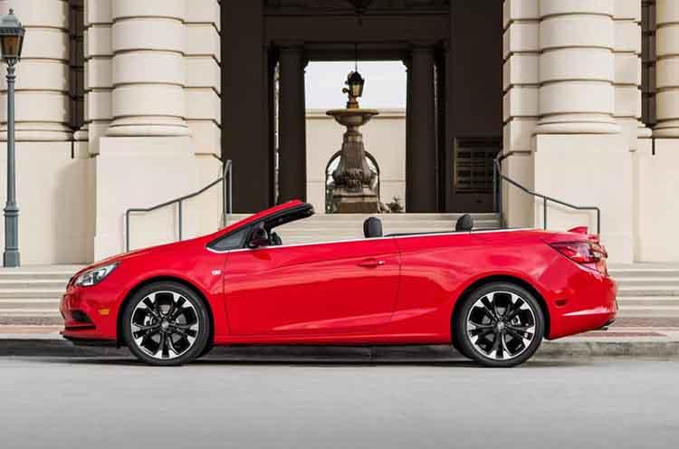 2019 Buick Cascada side