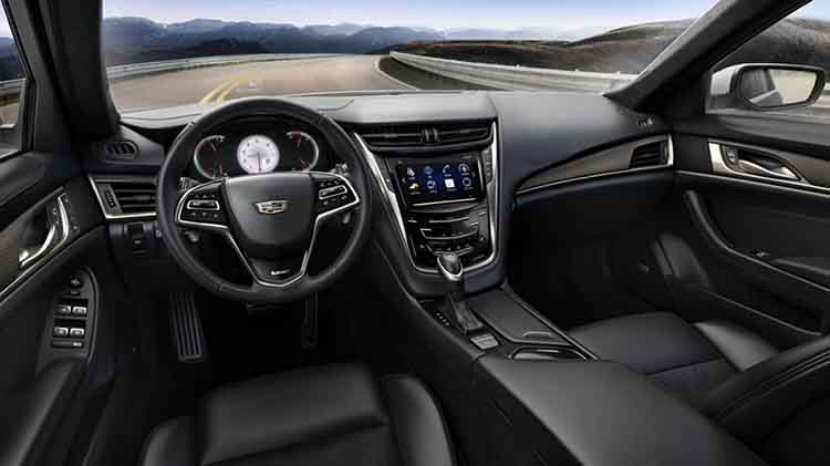 2019 Cadillac CT2 interior