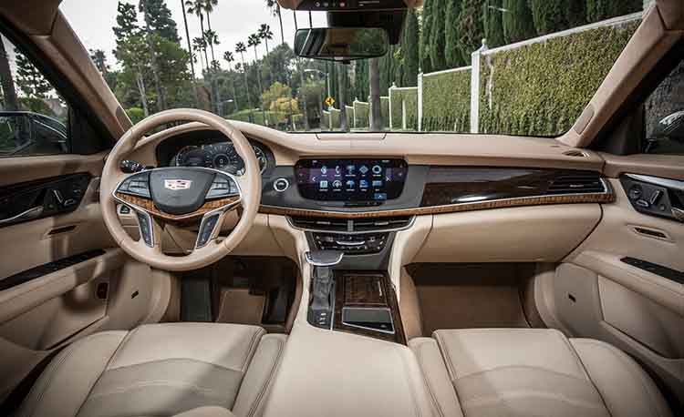 2019 Cadillac CT8 interior