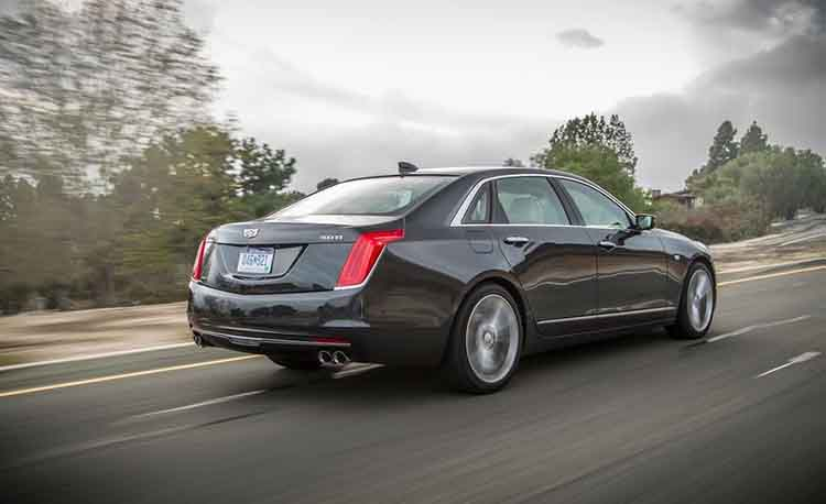 2019 Cadillac CT8 rear