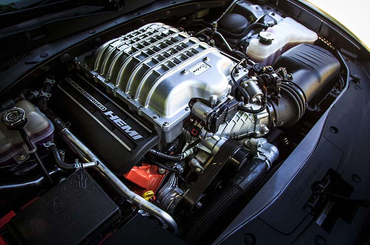 2019 Dodge Charger engine