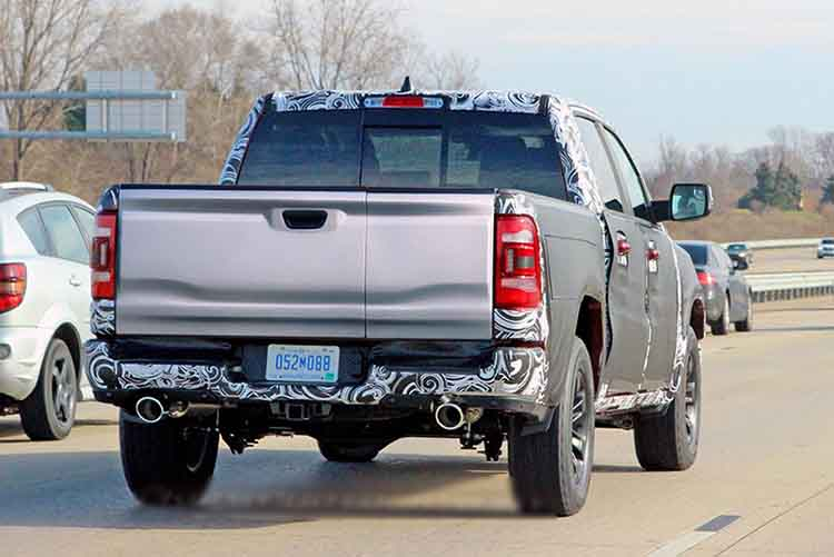 2019 Dodge Ram 1500 rear