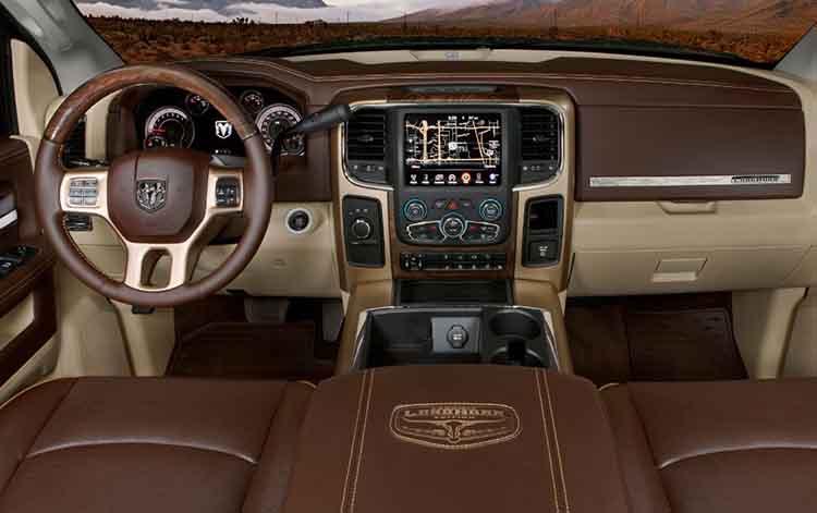 2019 Dodge Ram 2500 interior