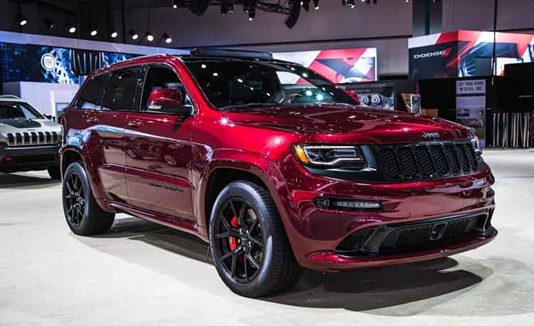 2019 jeep grand cherokee srt release date redesign spy photos 4x4. Black Bedroom Furniture Sets. Home Design Ideas