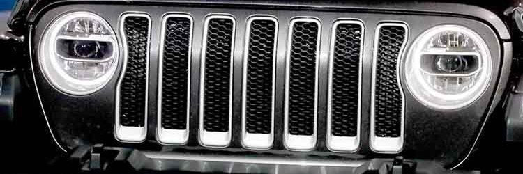 2019 Jeep Wrangler grille