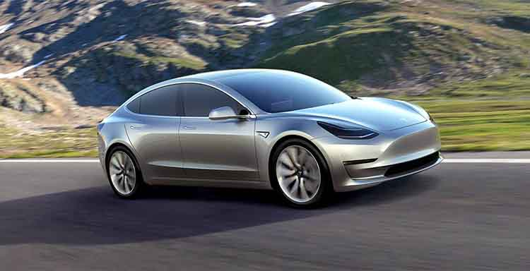 2019 Tesla Model 3 hatch