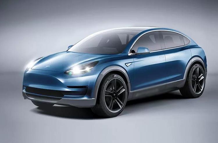 2019 Tesla Model Y concept