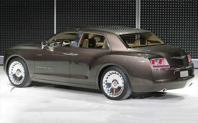 2019 Chrysler Imperial rear view