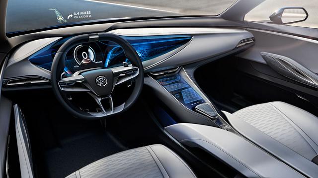 2019 Buick Avista interior