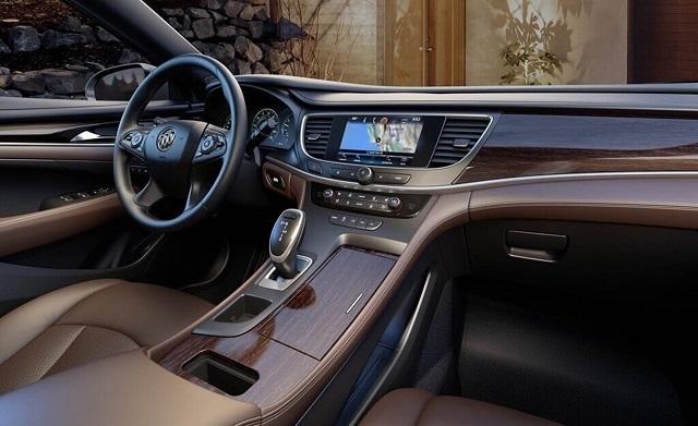 2019 Buick Lacrosse interior