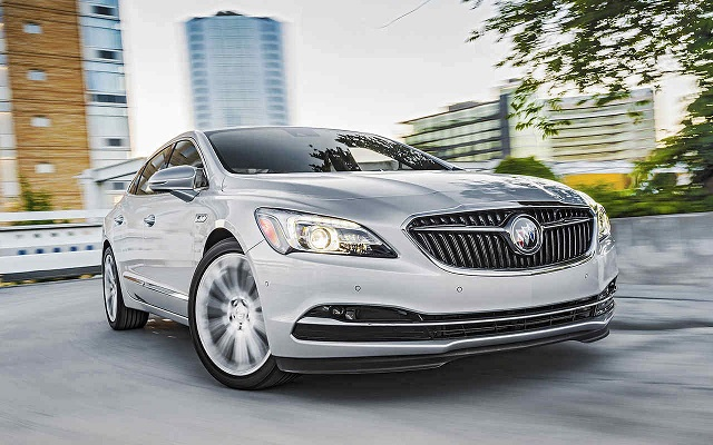 2019 buick lacrosse front view