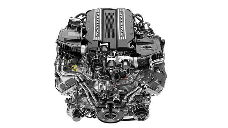 2019 Cadillac CT6 V-8 engine