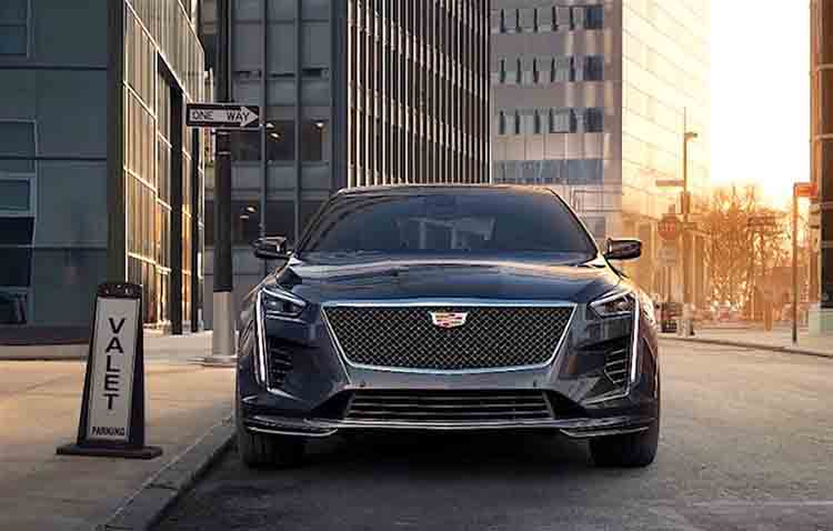 2019 Cadillac CT6 front