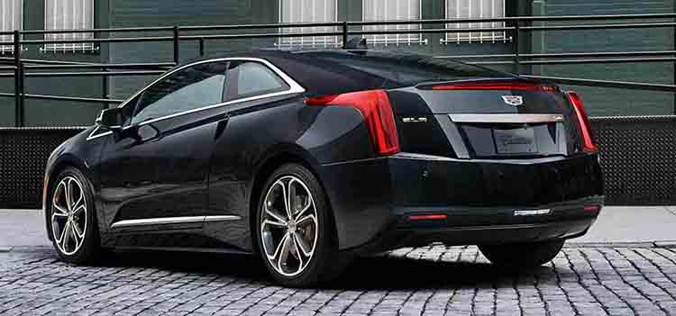 2019 Cadillac ELR rear