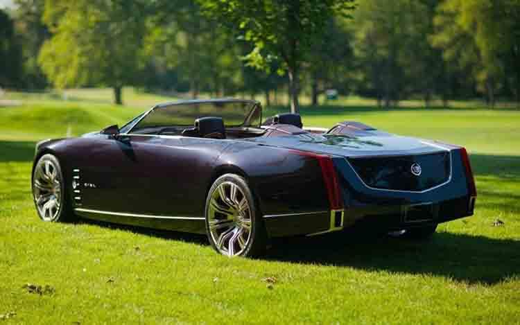 2019 Cadillac Eldorado rear