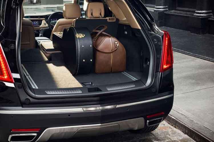 2019 Cadillac SRX back