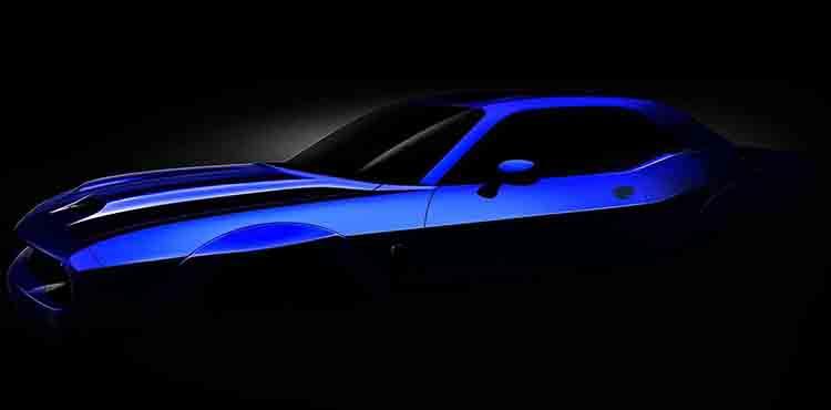 2019 Dodge Challenger Hellcat teaser