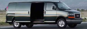 2019 GMC Savana side