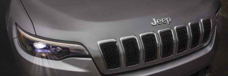 2019 Jeep Cherokee grille