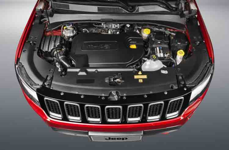 2019 Jeep Compass engine