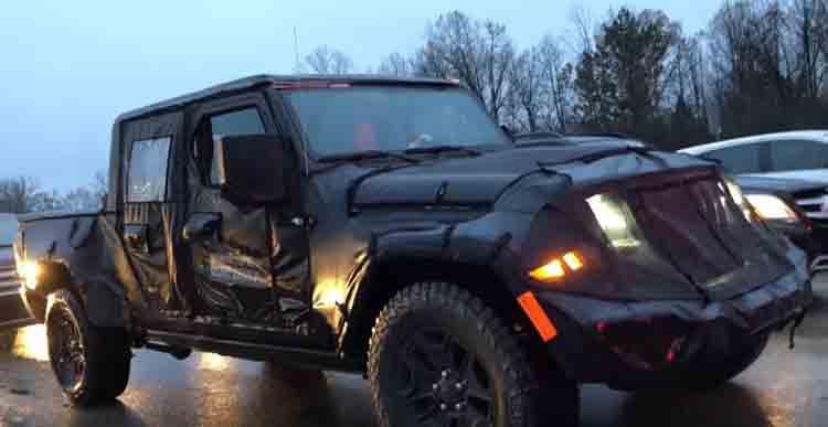 2019 Jeep Scrambler spied