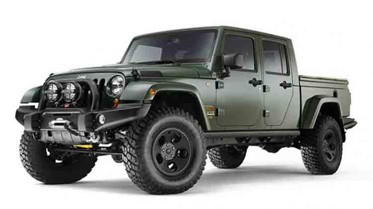 2019 Jeep Wrangler Diesel truck