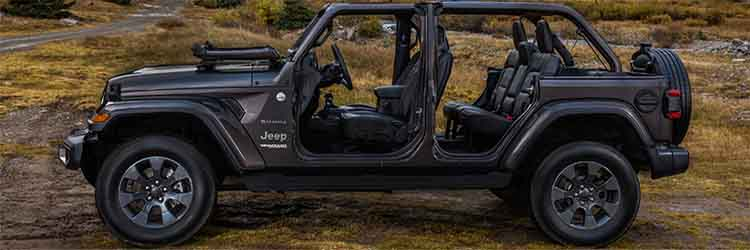 2019 Jeep Wrangler Unlimited side